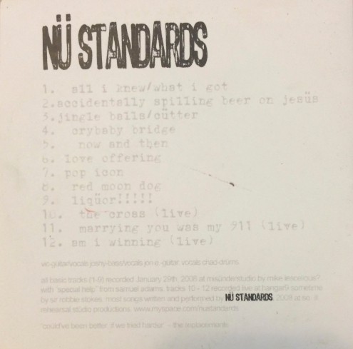 Nu standardsback